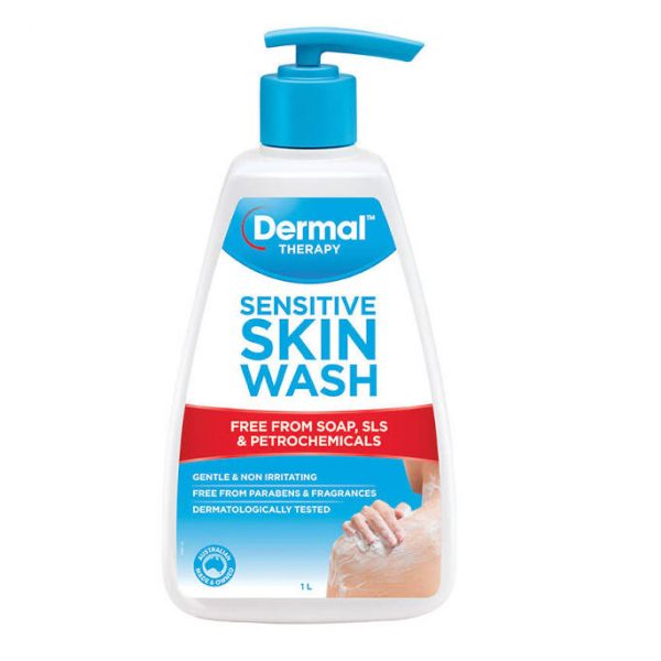 dermal therapy sesnitive skin wash 1l