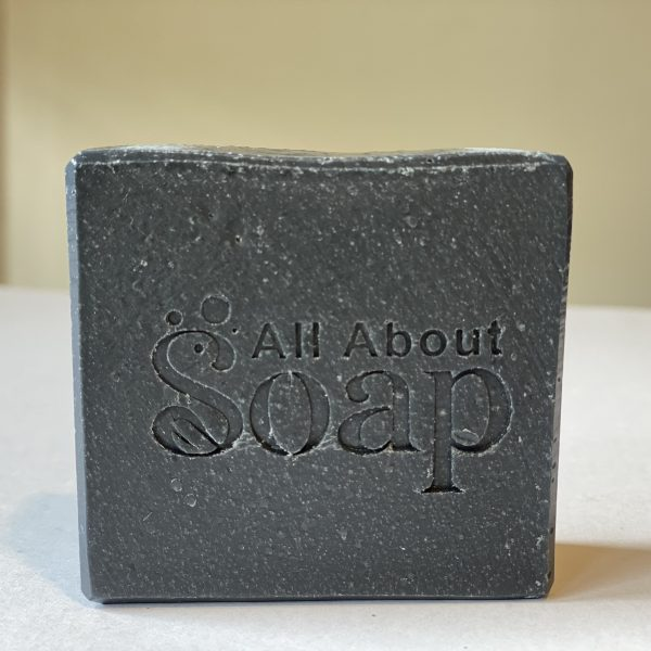 All About Soap charcoal peppermint