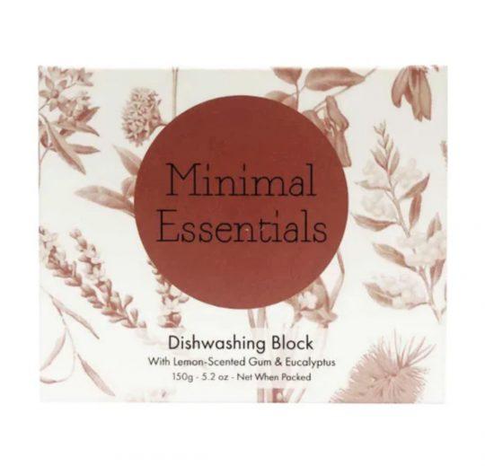 minimal essentials dishwashing block