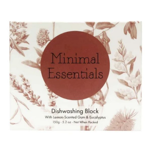 minimal essentials dishwashing block