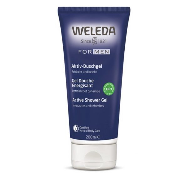 weleda active shower gel