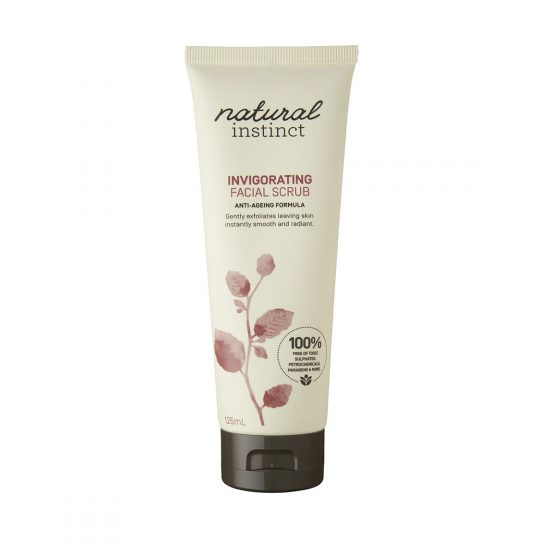 natural instinct invigorating face scrub