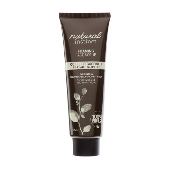natural instinct face scrub coffee coconut