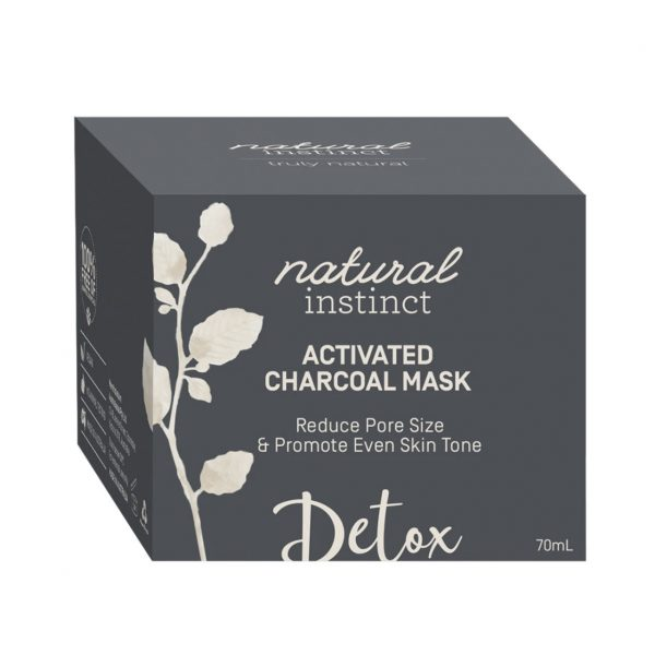Natural Instinct Mask Activated Charcoal box