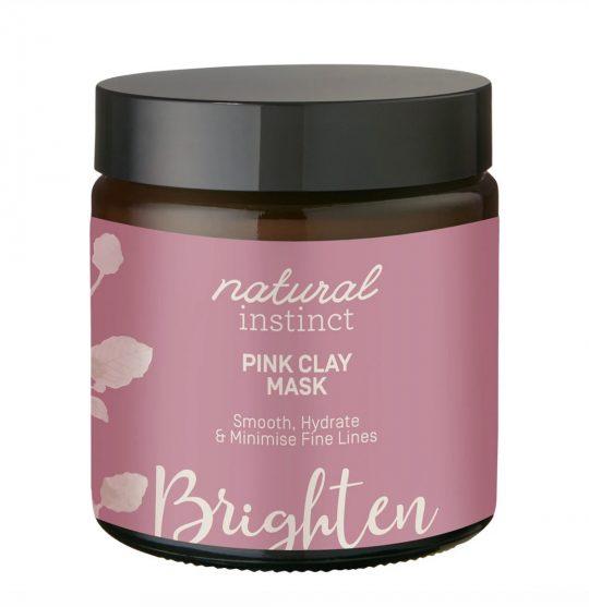 Natural Instinct Mask Pink Clay