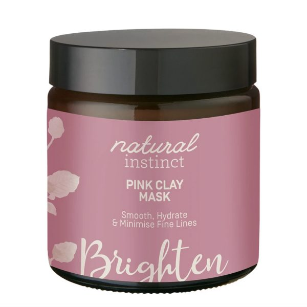 Natural Instinct Mask Pink Clay