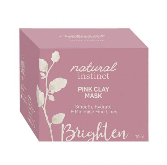 Natural Instinct Mask Pink Clay box