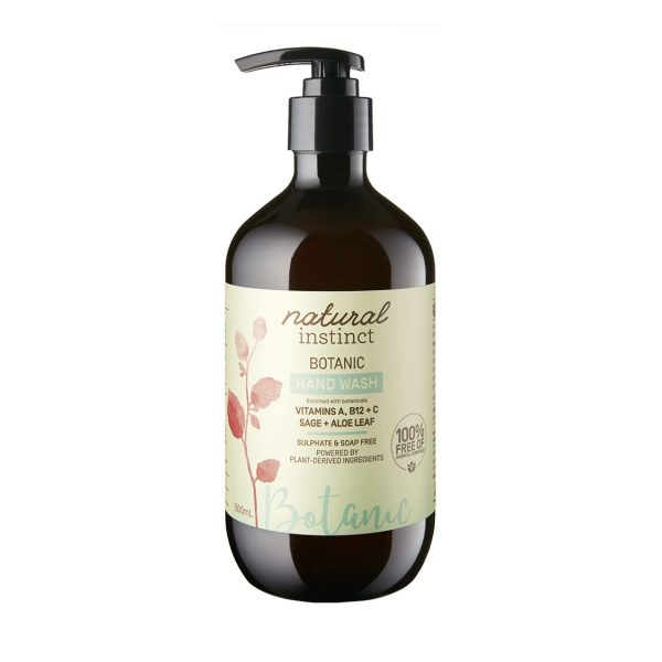 natural instinct botanic hand wash