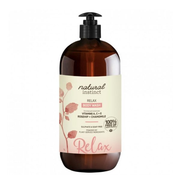 natural instinct relax body wash 1 L