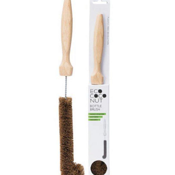 eco coconut bottle brush