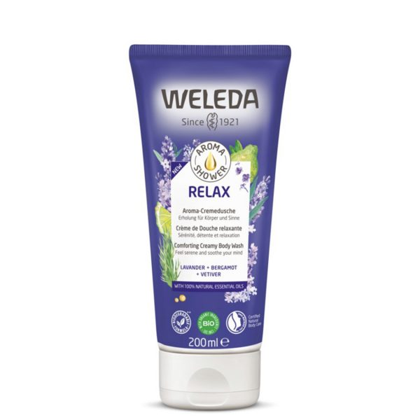 weleda shower gel relax