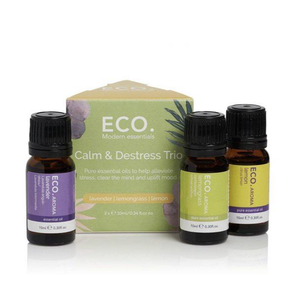 eco modern essentials calm distress trio set