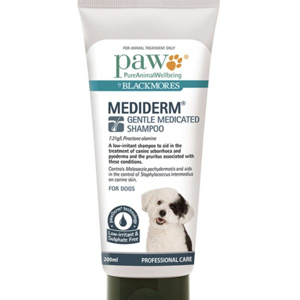 PAW By Blackmores MediDerm Gentle Medicated Shampoo (for dogs)