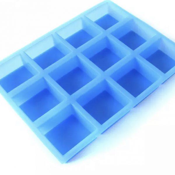 12 cavity square mould