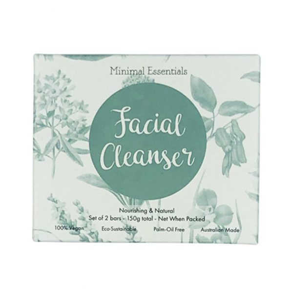minimal essential facial cleanser