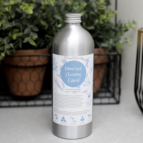 Minimal Essentials Universal Cleaning Liquid (Citrus oils & Eucalyptus)