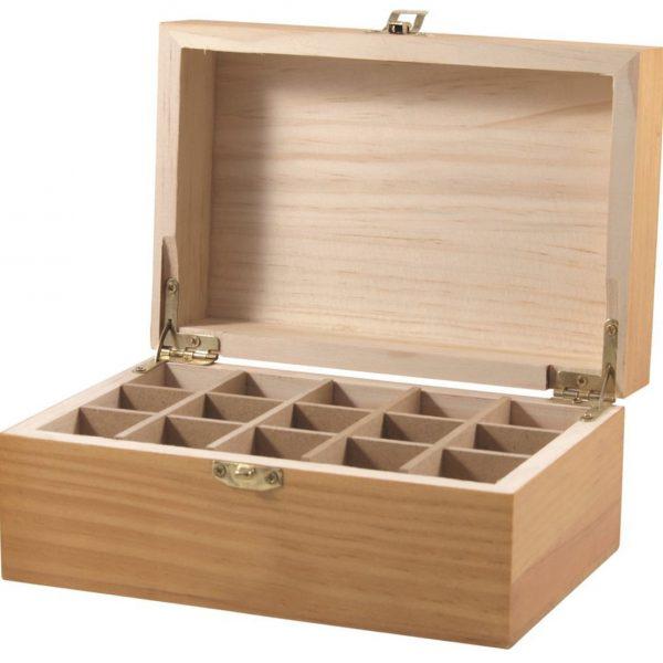 15 cavity oil storage box