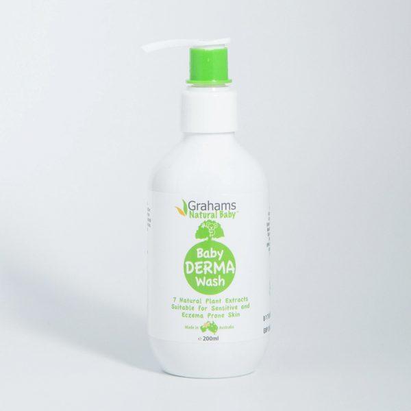 grahams natural derma wash